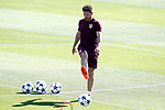 Atletico de Madrid's coach Diego Pablo Cholo Simeone during training session. April 11,2017.(ALTERPHOTOS/Acero)
