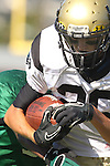 Torrance, CA 10/06/11 - Jason Burr (Peninsula #26). in action during the Peninsula vs South Torrance Frosh football game.