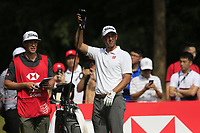 Adam Scott (AUS) on the 9th tee during the final round of the WGC HSBC Champions, Sheshan Golf Club, Shanghai, China. 03/11/2019.<br /> Picture Fran Caffrey / Golffile.ie<br /> <br /> All photo usage must carry mandatory copyright credit (© Golffile | Fran Caffrey)