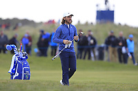 Tommy Fleetwood (ENG) on the 3rd fairway during Round 2 of the Betfred British Masters 2019 at Hillside Golf Club, Southport, Lancashire, England. 10/05/19<br /> <br /> Picture: Thos Caffrey / Golffile<br /> <br /> All photos usage must carry mandatory copyright credit (&copy; Golffile | Thos Caffrey)