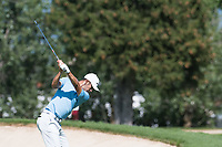 Jack Singh Brar (ENG) in action on the 2nd hole during second round at the Omega European Masters, Golf Club Crans-sur-Sierre, Crans-Montana, Valais, Switzerland. 30/08/19.<br /> Picture Stefano DiMaria / Golffile.ie<br /> <br /> All photo usage must carry mandatory copyright credit (© Golffile | Stefano DiMaria)