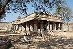 Shiva Tempel in der archäologischen Zone von Hampi, Karnataka, Indien