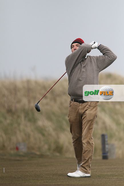 Paddy Byrne (St.Annes) during the Hilary Golf Society at Royal Dublin Golf Club, Bull Island, Co.Dublin. 07/04/2013..(Photo Jenny Matthews/www.golffile.ie)
