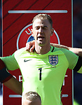 England's Joe Hart in action during the FIFA World Cup Qualifying match at Hampden Park Stadium, Glasgow Picture date 10th June 2017. Picture credit should read: David Klein/Sportimage