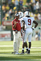 2 September 2006: Buzz Preston and Richard Sherman (9) during Stanford's 48-10 loss to the Oregon Ducks at Autzen Stadium in Eugene, OR.