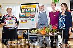 Mairead Hanlon (Course Tutor), Resident chef Joe Glonek, Agata Nowik (activities Co-Ordinator), Marta Piskorowska (person in charge) at The Healthy Living Presentation at Oaklands Nursing Home in Listowel on Friday.