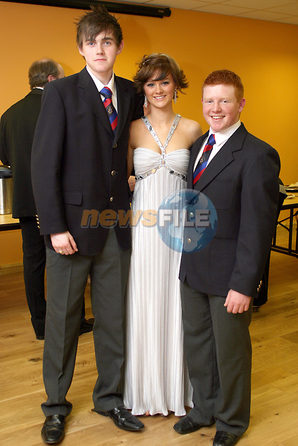 David O'Boyle, Amy Judge and Sean Tester at the Opening Gala Night at the Barbican in aid of Cystic Fibrosis...Photo NEWSFILE/Jenny Matthews.(Photo credit should read Jenny Matthews/NEWSFILE)....This Picture has been sent you under the condtions enclosed by:.Newsfile Ltd..The Studio,.Millmount Abbey,.Drogheda,.Co Meath..Ireland..Tel: +353(0)41-9871240.Fax: +353(0)41-9871260.GSM: +353(0)86-2500958.email: pictures@newsfile.ie.www.newsfile.ie.FTP: 193.120.102.198.