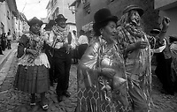 02.2010  Coroico (Bolivia)<br /> <br /> D&eacute;fil&eacute; du carnaval a Coroico.<br /> <br /> Parade of carnival in Coroico.