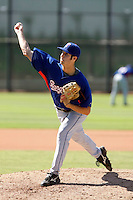 Nick McBride - Texas Rangers 2009 Instructional League.Photo by:  Bill Mitchell/Four Seam Images..