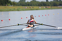 Race: 49  Event: Women's Lightweight Single Sculls - Heat 3<br /> <br /> National Schools Regatta 2018<br /> Sunday<br /> <br /> To purchase this photo, or to see pricing information for Prints and Downloads, click the blue 'Add to Cart' button at the top-right of the page.