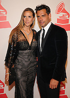 LAS VEGAS, NV - November 14: Angelica Castro and Cristian de la Fuente attend the Latin Grammys Person of the Year red carpet arrivals at the MGM Grand on November 14, 2012 in Las Vegas, Nevada. Photo By Kabik/ Starlitepics/MediaPunch Inc. /NortePhoto