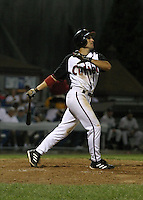 August 25, 2003:  Anthon Bocchino of the Williamsport Crosscutters during a game at Bowman Field in Williamsport, Pennsylvania.  Photo by:  Mike Janes/Four Seam Images