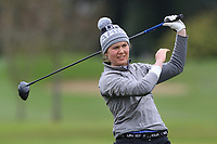 Niamh O'Dwyer (Lahinch) on the 15th tee during Round 1 of the Irish Girls U18 Open Stroke Play Championship at Roganstown Golf &amp; Country Club, Dublin, Ireland. 05/04/19 <br /> Picture:  Thos Caffrey / www.golffile.ie
