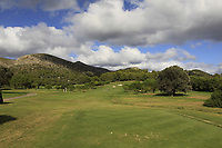 Looking up the 12th during the Pro-Am of the Challenge Tour Grand Final 2019 at Club de Golf Alcanada, Port d'Alcúdia, Mallorca, Spain on Wednesday 6th November 2019.<br /> Picture:  Thos Caffrey / Golffile<br /> <br /> All photo usage must carry mandatory copyright credit (© Golffile | Thos Caffrey)