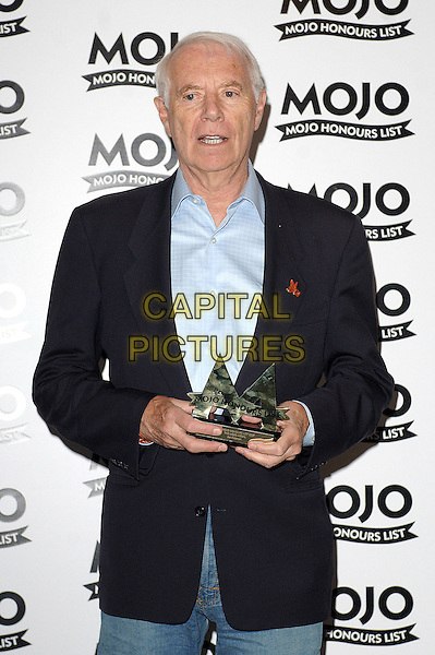 JAC HOLZMAN (Winner of The MOJO Medal).The MOJO Honours List Ceremony, The Brewery,London, England..June 18th , 2007.half length blue suit jacket award trophy.CAP/BEL.©Belcher/Capital Pictures