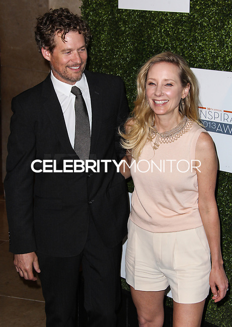 BEVERLY HILLS, CA - MAY 31: Anne Heche and James Tupper attend Step Up Women's Network 10th annual Inspiration Awards at The Beverly Hilton Hotel on May 31, 2013 in Beverly Hills, California. (Photo by Celebrity Monitor)