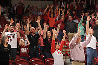 NWA Democrat-Gazette/ANDY SHUPE<br /> Arkansas Vanderbilt Tuesday, Feb. 7, 2017, during the second half of play in Bud Walton Arena in Fayetteville. Visit nwadg.com/photos to see more photographs from the game.