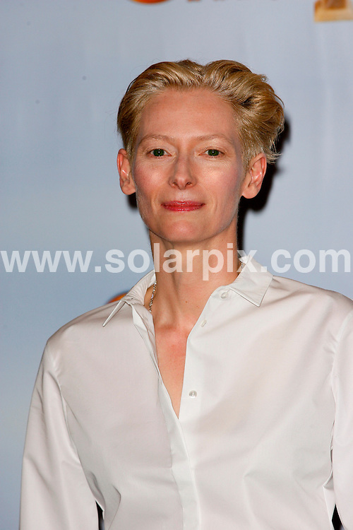 **ALL ROUND PICTURES FROM SOLARPIX.COM**                                             **SYNDICATION RIGHTS FOR UK, AUSTRALIA, DENMARK, PORTUGAL, S. AFRICA, SPAIN & DUBAI (U.A.E) & ASIA (EXCLUDING JAPAN) ONLY**                                                                                  68th Annual Golden Globe Awards. Press Room Beverly Hilton Hotel, Beverly Hills, CA, USA                                                            .This pic:   Tilda Swinton                                                                      .JOB REF:     12675   PHZ/Charlotte       DATE: 17.01.11                                                           **MUST CREDIT SOLARPIX.COM OR DOUBLE FEE WILL BE CHARGED**                                                                      **MUST AGREE FEE BEFORE ONLINE USAGE**                               **CALL US ON: +34 952 811 768 or LOW RATE FROM UK 0844 617 7637**