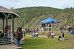 Dawson City 2010,  Music Fest, On the banks of the Yukon River,THE YUKON TERRITORY, CANADA