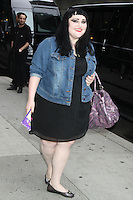 May 22, 2012 Beth Ditto of The Gossip at Late Show with David Letterman in New York City. © RW/MediaPunch Inc.