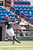 Mills Rogers of the Gulf Coast League Nationals during the game at Space Coast Stadium in Viera, Florida July 11 2010.  Photo By Scott Jontes/Four Seam Images