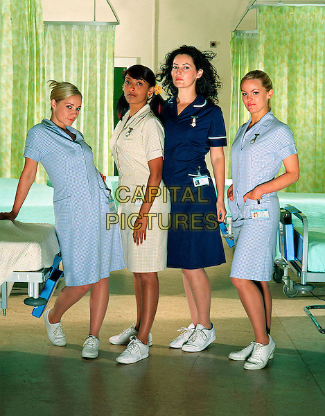 KAYE WRAGG, SUNETRA SARKER, LOUISE DELAMERE & JO JOYNER.in No Angels .**Editorial Use Only**.CAP/FB.Supplied by Capital Pictures