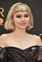 Imogen Poots<br /> The Olivier Awards 2018 , arrivals at The Royal Albert Hall, London, UK -on April 08, 2018.<br /> CAP/PL<br /> &copy;Phil Loftus/Capital Pictures