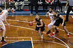 SIOUX FALLS, SD: MARCH 20: Elvar Fridriksson #10 from Barry University finds an opening against Ferris State during their game at the 2018 Division II Men's Elite 8 Basketball Championship at the Sanford Pentagon in Sioux Falls, S.D. (Photo by Dick Carlson/Inertia)