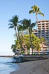 The Halekulani Hotel, the Hawaiian name meaning House Befitting Heaven, located on Waikiki beach in Honolulu, Hawaii offers stunning views of Diamond Head in a historic, secluded and exclusive setting.