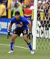 Armando Navarrete  in the Club America @ Real Salt Lake 0-1 RSL win at Rio Tinto Stadium in Sandy, Utah on July 11, 2009