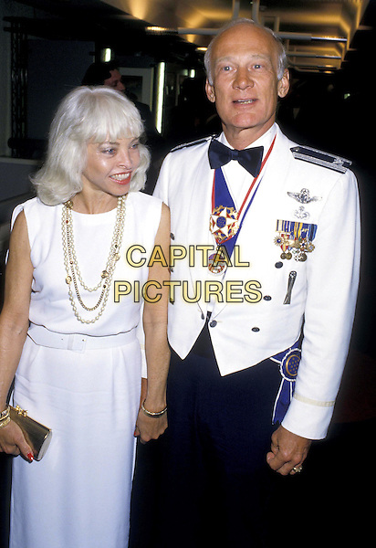 BUZZ ALDRIN.ref:026.half length, half-length, astronaut, moon, medals.*RAW SCAN- photo will be adjusted for publication*.www.capitalpictures.com.sales@capitalpictures.com.©Capital Pictures
