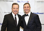 Bryan Cranston and Tony Goldwyn during a reception for Theatre Forward's Chairman's Awards Gala at the Pierre Hotel on April 8, 2019 in New York City.