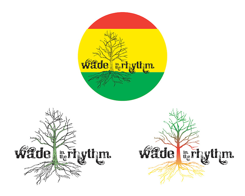 Logo Design for Band, Wade in the Rhythm