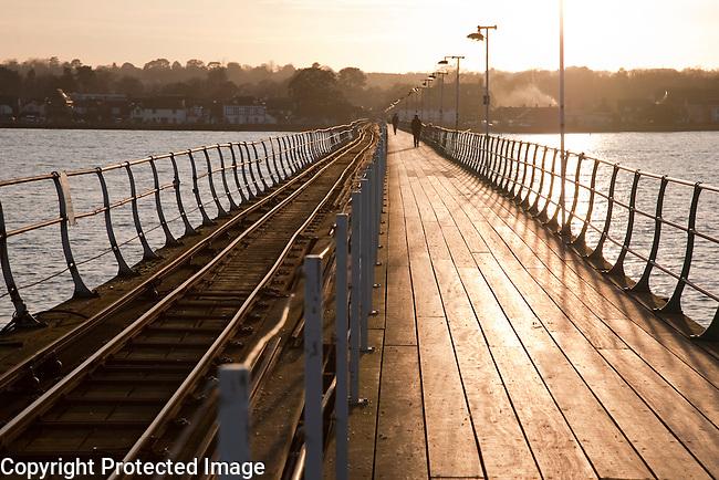 Hythe Pier, Southampton, England, UK