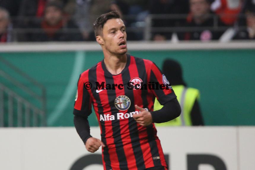Vaclav Kadlec (Eintracht) - Eintracht Frankfurt vs. Borussia Mönchengladbach, DFB-Pokal 2. Runde, Commerzbank Arena