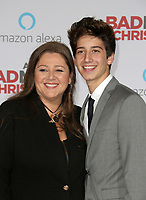 WESTWOOD, CA - OCTOBER 30: Camryn Manheim, Milo Manheim, at Premiere Of STX Entertainment's 'A Bad Moms Christmas' At The Regency Village Theatre in Westwood, California on October 30, 2017. Credit: Faye Sadou/MediaPunch