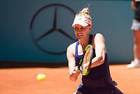 American Alison Riske during Mutua Madrid Open Tennis 2017 at Caja Magica in Madrid, May 06, 2017. Spain.<br /> (ALTERPHOTOS/BorjaB.Hojas) /NORTEPHOTO.COM