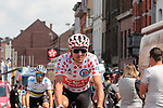 Polka Dot Jersey holder Greg Van Avermaet (BEL) CCC Team arrives at sign on before Stage 3 of the 2019 Tour de France running 215km from Binche, Belgium to Epernay, France. 8th July 2019.<br /> Picture: Colin Flockton | Cyclefile<br /> All photos usage must carry mandatory copyright credit (© Cyclefile | Colin Flockton)