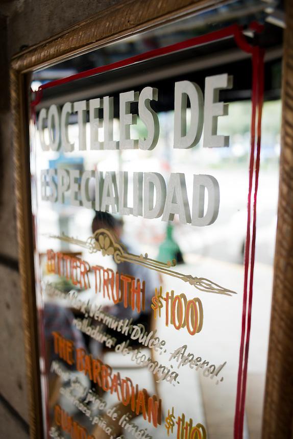 Restaurant Sobrinos, Colonia Roma, Mexico DF