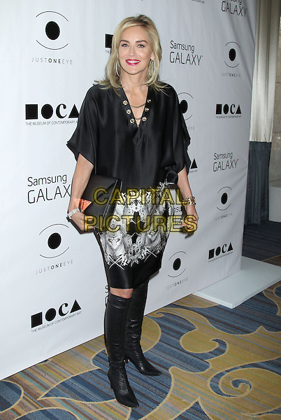 06 November 2013 - Beverly Hills, California - Sharon Stone at the  8th Annual MOCA Awards to Distinguished Women in the Arts Luncheon at the Beverly Wilshire Four Seasons Hotel. <br /> CAP/ADM/RE<br /> &copy;Russ Elliot/AdMedia/Capital Pictures