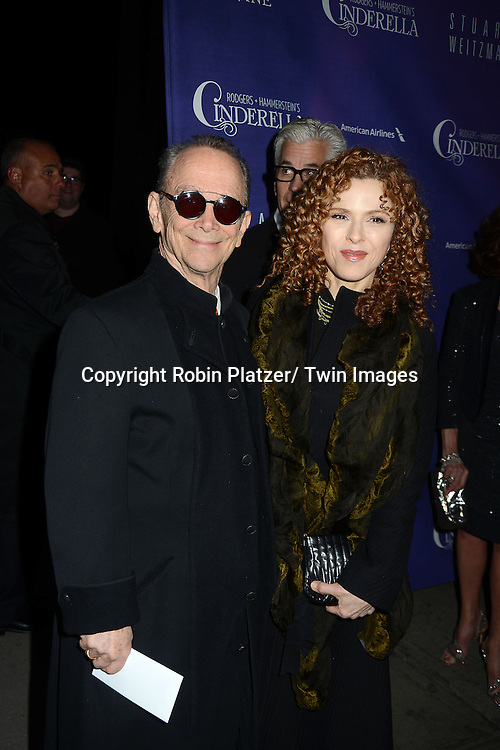 Joel Grey, Bernadette Peters attends Rogers +  Hammerstein's Cinderella Broadway Opening night on March 3, 2013 at the Broadway Theatre in New York City.