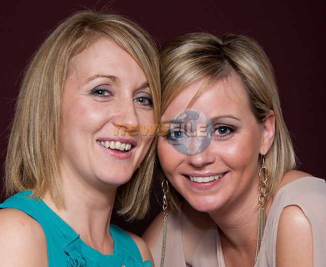 Kathy Tallon celebrating her birthday with Rebecca Aspell in Barocco..Picture: Shane Maguire / www.newsfile.ie.