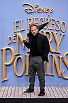 Juan Diaz attends to Mary Poppins Returns film premiere at Kinepolis in Pozuelo de Alarcon, Spain. December 11, 2018. (ALTERPHOTOS/A. Perez Meca)