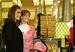 "Fan Tracey with Days - Kristen Alfonso with jewelry line Hope - Faith - Miracles on November 29, 2008 at Bloomingdales, New York City, New York. ""The fleur de lis has been the symbol of my inspiration. It has brought me hope and the faith to believe in miracles."" (Photo by Sue Coflin/Max Photos)"