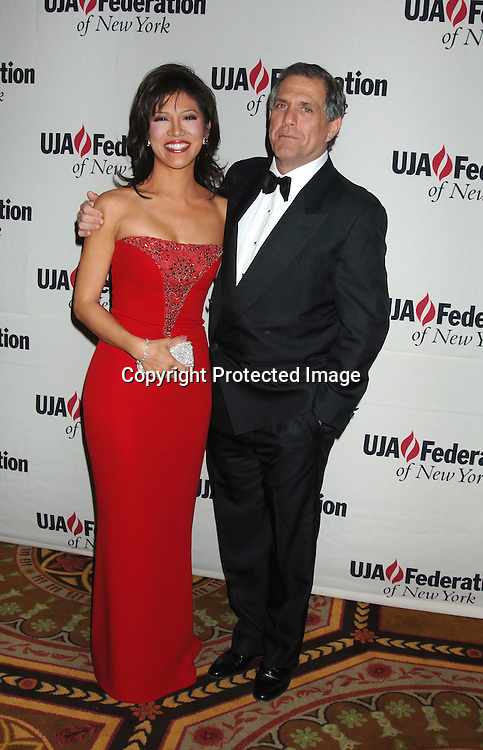 Julie Chen and Leslie Moonves ..at The UJA-Federation of New York dinner Honoring ..Richard Parsons, Chariman and CEO of Time Warner Inc..at The 10th Annual Steven J Ross Humanitarian Award..on May 11, 2006 at The Waldorf Astoria Hotel...Robin Platzer, Twin Images