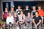 Killarney friends celebrating Womens Christmas in the Aghadoe Heights Hotel on Sunday front row l-r: Winnie Ryan, Bridget Riordan, Maureen Fleming, Eileen O'Connor, Joan Buckley. Back row: Emer O'Mahony, Mary O'Mahony, Anne O'Keeffe, Bernie Ryan, Angela Kelliher and Maura Fitzgerald