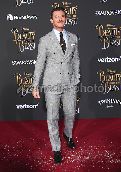 "02 March 2017 - Hollywood, California - Luke Evans. Disney's ""Beauty and the Beast' World Premiere held at El Capitan Theatre. Photo Credit: AdMedia"