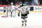 Stockholm 2014-03-21 Ishockey Kvalserien AIK - R&ouml;gle BK :  <br /> R&ouml;gles Andreas Lilja deppar<br /> (Foto: Kenta J&ouml;nsson) Nyckelord:  depp besviken besvikelse sorg ledsen deppig nedst&auml;md uppgiven sad disappointment disappointed dejected portr&auml;tt portrait