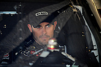 Feb 11, 2009; Daytona Beach, FL, USA; NASCAR Sprint Cup Series driver Casey Mears during practice for the Daytona 500 at Daytona International Speedway. Mandatory Credit: Mark J. Rebilas-