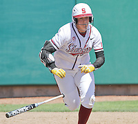 STANFORD, CA - April 30, 2011:  Teagan Gerhart during Stanford's 7-1 loss to Washington at Stanford, California on April 30, 2011.